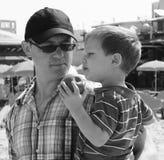 Vater und Sohn Stockfotografie