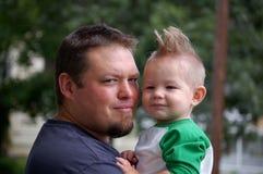 Vater und Sohn Lizenzfreies Stockfoto