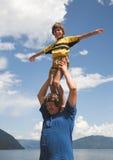 Vater und Sohn Lizenzfreie Stockbilder