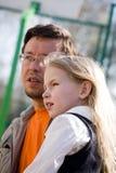 Vater und Tochter Lizenzfreies Stockfoto