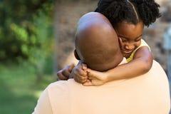 Vater und Tochter Stockfotos