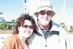 Vater-und Tochter-Liebe Stockfotografie