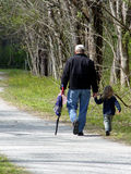 Vater-und Tochter-Zeit lizenzfreie stockbilder