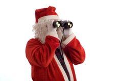 Vater-Weihnachtsgeschäftsstrategie stockbild