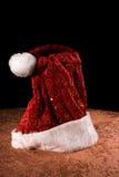 Vater-Weihnachtshut Lizenzfreies Stockbild