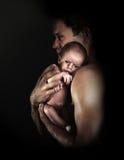 Vaterschaft 2 Stockfotografie