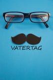 Vatertag - tedesco per il giorno dei fatherFotografia Stock Libera da Diritti