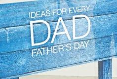 Vatertagsgeschenke. Stockbilder