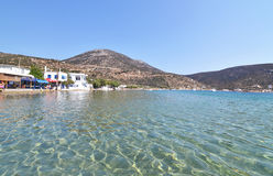 Vathi beach Sifnos Cyclades Greece Royalty Free Stock Image
