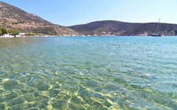 Vathi beach Sifnos Greece royalty free stock images