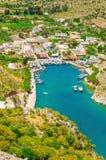 Vathi, Kalymnos, Ελλάδα Στοκ Εικόνα