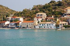 Vathi, Meganisi Island Royalty Free Stock Photo