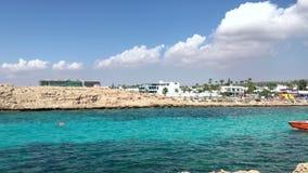 Vathia Gonia plaża blisko Ayia Napa w Cypr zbiory