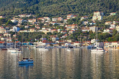 Vathy in Ithaki island, Greece Royalty Free Stock Image