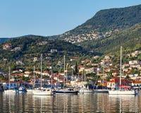 Vathy in Ithaki island, Greece Stock Photography