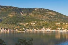 Vathy in Ithaki island, Greece Royalty Free Stock Photo