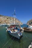 Vathy, Kalymnos-eiland stock foto