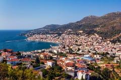 Vathy Samos Imágenes de archivo libres de regalías