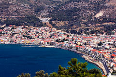 Vathy Samos Стоковое Изображение