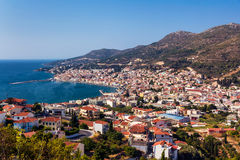 Vathy Samos Royalty Free Stock Images