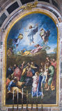 .Vatica Picture painted by Raphael,Transfigurationn.Italy Royalty Free Stock Image
