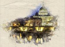 vatican royalty ilustracja