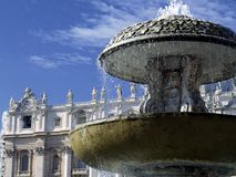Vatican. Roma, Vatican, the famous detail of the famous square Royalty Free Stock Images