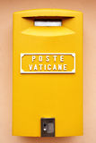 почта vatican коробки Стоковые Изображения RF