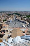 Vatican. Piazza San Pietro (San Peter Square), Vatican City Stock Photography
