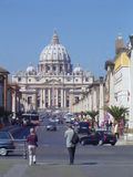 Vatican. View on vatican and st. peter Stock Images
