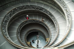 Vatican. Spiral stairs to get to the vatican royalty free stock images