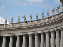 Vatican. St Peter's Square Stock Images