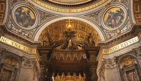 Vatican all'interno di Roma Italia fotografia stock libera da diritti