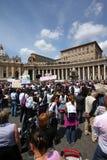 Vatican Angelus Stock Images
