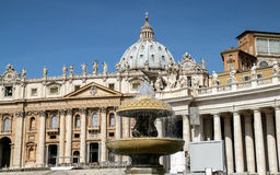 Vatican architecture Royalty Free Stock Photo
