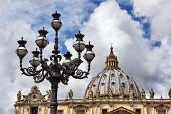 Vatican architecture Royalty Free Stock Image