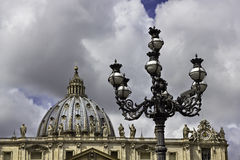 Vatican architecture Royalty Free Stock Photos