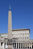 Vatican. The area before St. Peter Cathedral Stock Photos