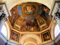Vatican art. Ceiling art in a dome of the Vatican Muesums Royalty Free Stock Images
