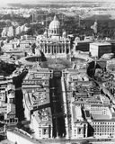 The Vatican as seen from above Royalty Free Stock Images