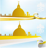 Vatican background Royalty Free Stock Images