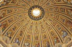 Vatican basilica architecture  Royalty Free Stock Images