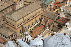 Vatican from the basilica Cupola Royalty Free Stock Photo