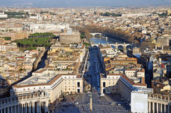 Vatican Basilica view Stock Images