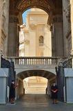 Vatican border Stock Photo
