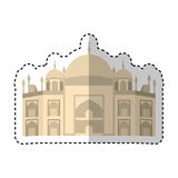 Vatican Cathedral isolated icon Stock Images