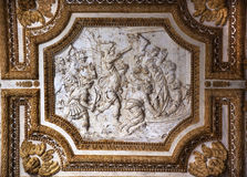 Vatican Ceiling Inside Sculpture Christian Martyrs royalty free stock photography