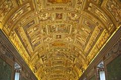 Vatican ceiling museum Stock Images