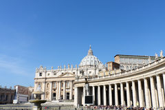 Vatican City. On blue sky Stock Photos