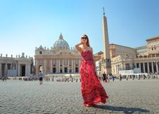 In the Vatican City royalty free stock images